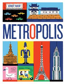 Metropolis - Benoit Tardif - copertina