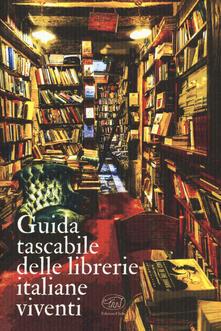 Guida tascabile delle librerie italiane viventi - copertina