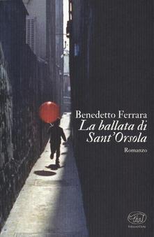 La ballata di Sant'Orsola - Benedetto Ferrara - copertina