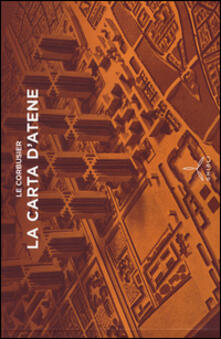La Carta di Atene - Le Corbusier - copertina