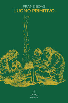 L' uomo primitivo - Franz Boas - copertina