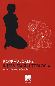 Intervista sull'etologia - Konrad Lorenz - copertina