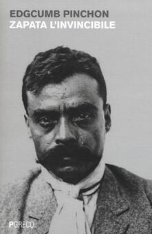 Zapata l'invincibile - Edgcumb Pinchon - copertina