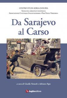 Da Sarajevo al Carso - copertina