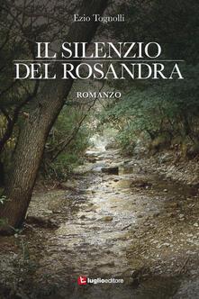Il silenzio del Rosandra - Ezio Tognolli - copertina