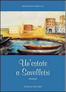 Un' estate a Savelletri - Giovanni Narracci - copertina