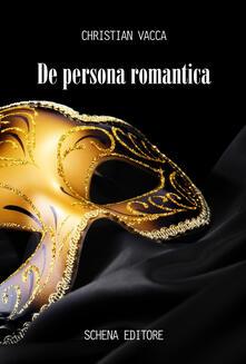 De persona romantica - Christian Vacca - copertina
