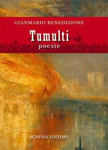 Tumulti - Gianmario Benedizione - copertina