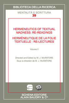 Hermeneutics of textual madness: re-readings-Herméneutique de la folie textuelle:re-lectures - copertina
