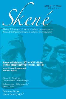 Skené. Rivista di letteratura francese e italiana contemporanee (2016). Ediz. bilingue. Vol. 6 - copertina