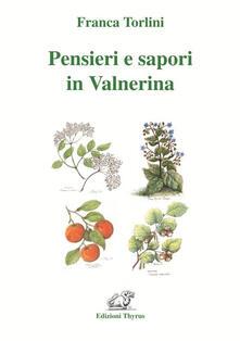 Pensieri e sapori in Valnerina - Franca Torlini - copertina