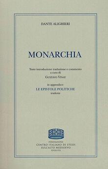 Monarchia - Dante Alighieri - copertina