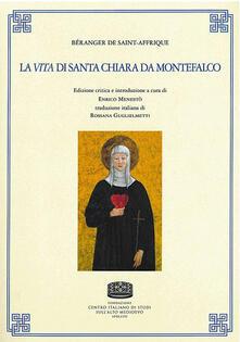 Béranger de Saint-Affrique. La vita di Santa Chiara da Montefalco - copertina