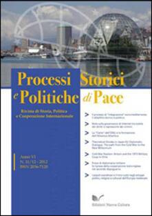 Processi storici e politiche di pace (2012) vol. 11-12 - copertina