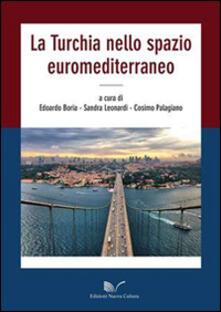 La Turchia nello spazio euromediterraneo - copertina
