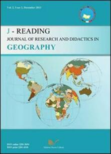 J-Reading. Journal of research and didactics in geography (2013). Vol. 2 - copertina