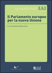 Il Parlamento Europeo per la nuova unione - copertina