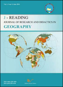 J-Reading. Journal of research and didactics in geography (2014). Vol. 1 - Gino De Vecchis - copertina