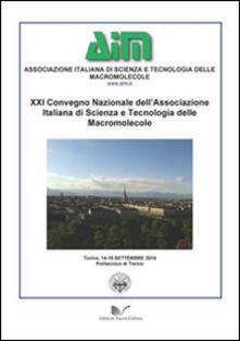 21° Convegno nazionale dell'associazione italiana di scienze e tecnologie delle macromolecole (Torino, 4-19 settembre 2014) - copertina