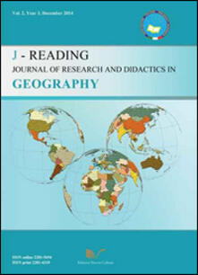 J-Reading. Journal of research and didactics in geography (2014). Vol. 2 - Gino De Vecchis - copertina