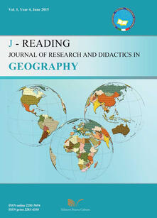 J-Reading. Journal of research and didactics in geography (2015). Vol. 1 - Gino De Vecchis - copertina