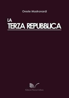 La terza repubblica - Oreste Mastronardi - copertina