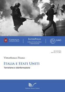 Italia Stati Uniti. Terrorismo e disinformazione
