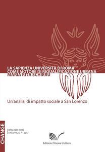 La Sapienza Università di Roma come motore di riqualificazione urbana. Un'analisi di impatto sociale a San Lorenzo