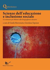 Scienze dell'educazione e inclusione sociale. Un seminario per riflettere sulle disuguaglianze educative
