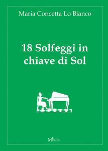 18 solfeggi in chiave di Sol