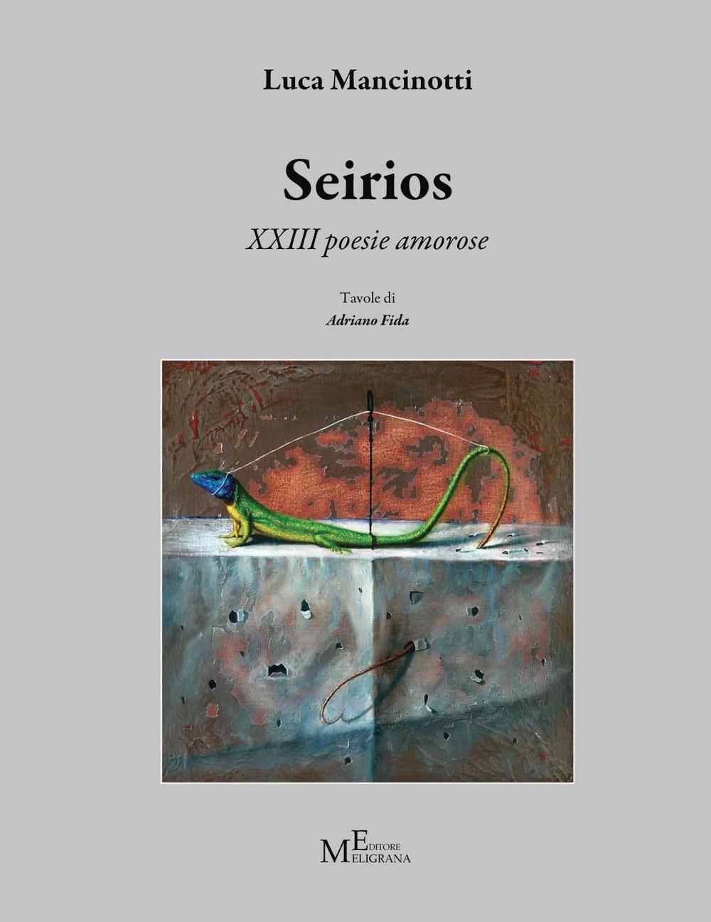 Image of Seirios. 13 poesie amorose