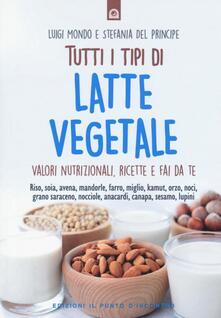 Vitalitart.it Tutti i tipi di latte vegetale. Valori nutrizionali, ricette e fai da te Image