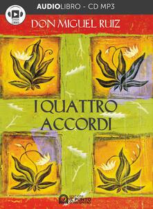 I quattro accordi - Miguel Ruiz - copertina
