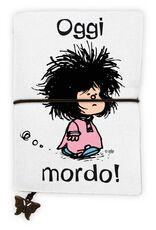 Cartoleria Quaderno piccolo Mafalda. Oggi mordo! Wabi Sabi