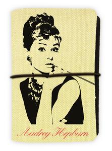 Cartoleria Porta carte Audrey Hepburn. Tiffany Wabi Sabi