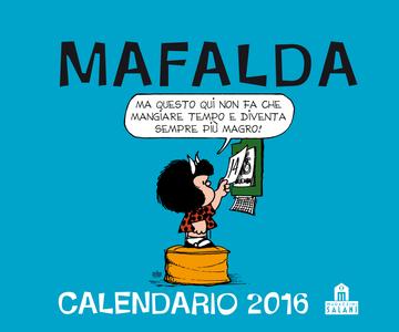 Cartoleria Calendario da tavolo 2016 Mafalda Che Stress! Magazzini Salani