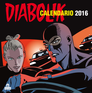 Cartoleria Calendario da parete 2016 Diabolik Magazzini Salani