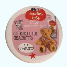 Writersfactory.it Costruisci il tuo orsacchiotto. Creative tube. Ediz. italiana, inglese e spagnola Image