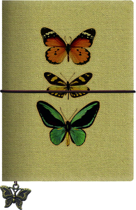 Cartoleria Quaderno piccolo farfalle Magazzini Salani