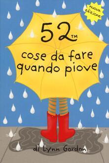 Associazionelabirinto.it 52 cose da fare quando piove. Carte Image