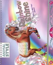Camfeed.it Rainbow Shine. Animal style Image