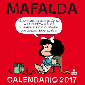 Cartoleria Mafalda Calendario da parete 2017 Magazzini Salani