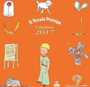 Cartoleria Piccolo Principe Calendario da parete 2017 Magazzini Salani