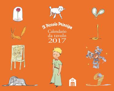 Cartoleria Piccolo Principe Calendario da tavolo 2017 Magazzini Salani