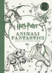 Premioquesti.it Harry Potter. Animali fantastici. Mini colouring book Image