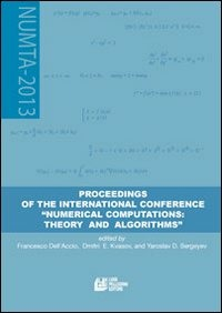 Proceeding of the international conference «numerical computations: theory and algorithms» - Sergeyev Yaroslav D. Kvasov Dmitri E. Dell'Accio Francesco - wuz.it