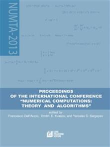Proceedings of the international Conference «Numerical computations: theory and algorithms»