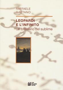 Winniearcher.com Leopardi e l'infinito. Un breviario del sublime Image