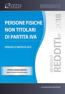 Radiospeed.it Modello redditi 2018. Persone fisiche non titolari di partita IVA. Con ebook Image