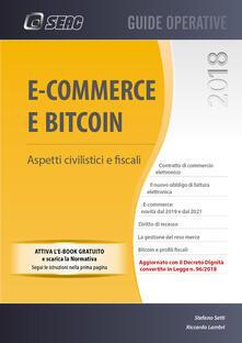 Vitalitart.it E-commerce e bitcoin. Aspetti civilistici e fiscali. Con e-book. Con espansione online Image